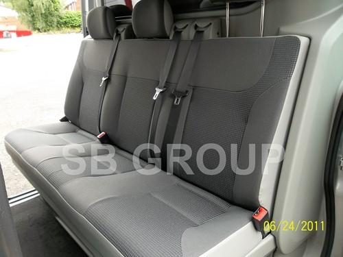 Vauxhall Vivaro Crew Cab Old Shape Up To 2014 Seat
